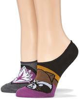 Asstd National Brand 2 Pair Knit Liner Socks - Womens