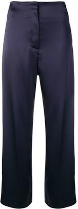 Nanushka Caribe satin trousers