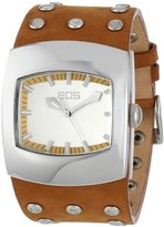 EOS New York Unisex 47LTAN Helix Tan Leather Strap Watch