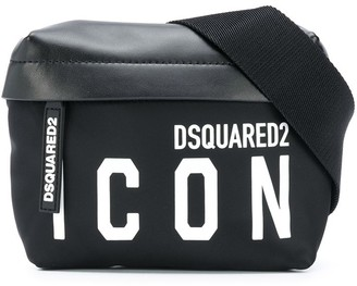 DSQUARED2 Logo Print Belt Bag