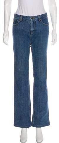 Louis Vuitton Mid-Rise Wide-Leg Jeans