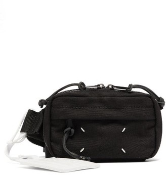 Maison Margiela Technical-twill Belt Bag - Black