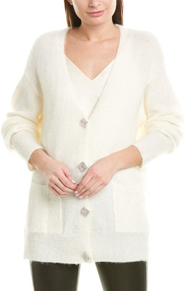 Aiden Embellished Mohair & Wool-Blend Cardigan