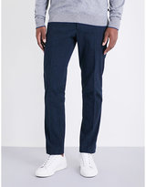 Michael Kors Regular-fit Stretch-cotton Trousers