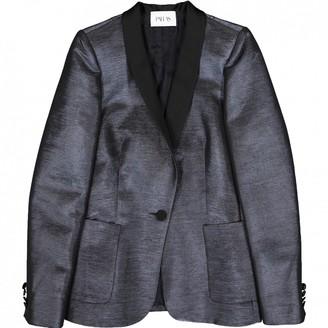 Pallas Blue Cotton Jackets