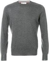 Brunello Cucinelli round neck jumper - men - Silk/Cashmere - 48