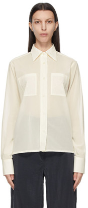 Lemaire Off-White New Pointed Collar Shirt