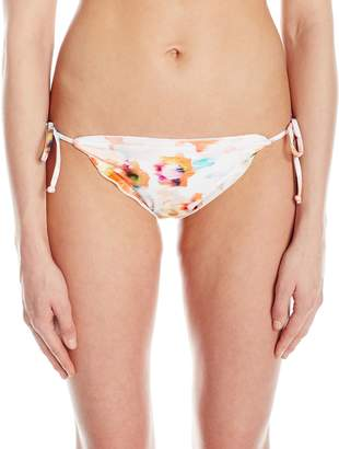Shoshanna Women's Dahlia Lettuce String Bikini Bottom