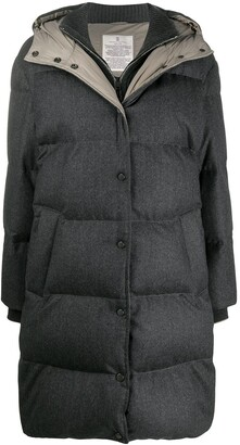 Brunello Cucinelli Padded Zip-Up Coat