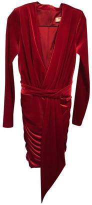 House Of CB Red Velvet Dresses