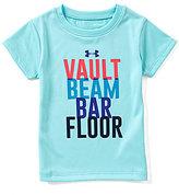 Under Armour Little Girls 2T-6X Gymnastics Short-Sleeve Tee