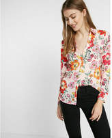Express Floral Slim Fit No Pocket Portofino
