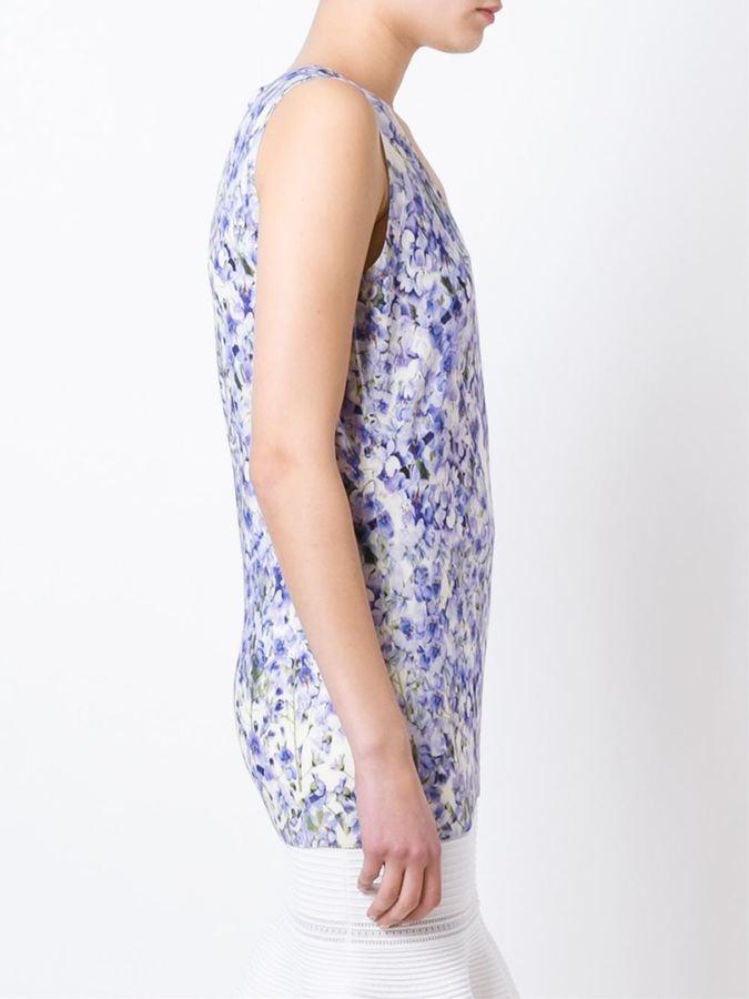Giambattista Valli floral print knit top
