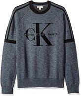 Calvin Klein Jeans Men's Vintage Logo Crew Neck Sweatshirt