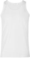 Sunspel Superfine Egyptian Cotton Vest, White