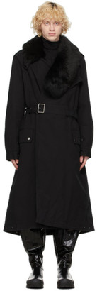 Mr & Mrs Italy Black Nick Wooster Edition Trench Coat