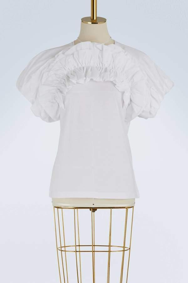 Alexander McQueen Puffy-sleeved T-shirt
