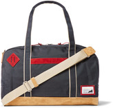 Master-piece - Suede-trimmed Canvas Holdall