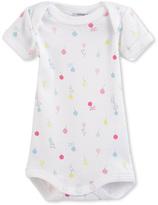 Petit Bateau Baby girls printed bodysuit