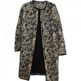 Hobbs White Cotton Coat for Women