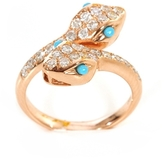 BETTINA JAVAHERI Double Fortune Snake Ring