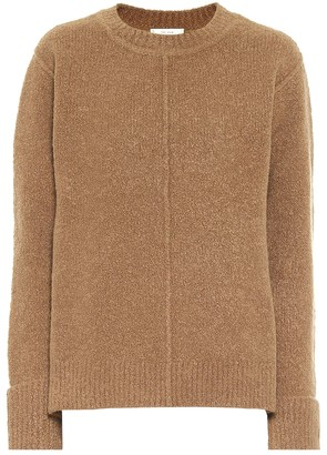 The Row Annegret cashmere and wool-blend sweater