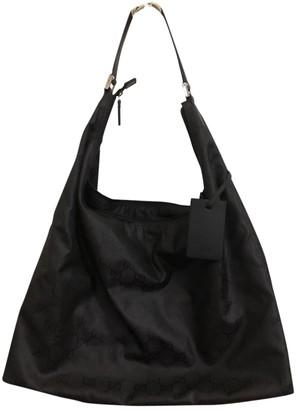 Gucci Hobo Black Synthetic Handbags