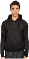 Pierre Balmain Mesh Track Jacket with Hood