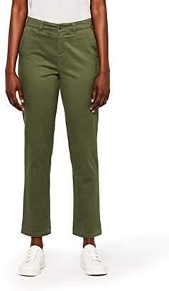 MERAKI Women's Stretch Slim Fit Trouser,(Size: Large)
