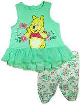 Asstd National Brand 2-pc. Winnie the Pooh Legging Set-Baby Girls
