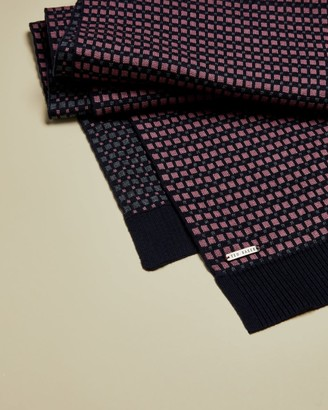 Ted Baker Cotton Geo Scarf