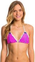 Beach Bunny Haute Dot Triangle Bikini Top 8118606
