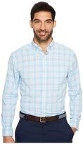 Vineyard Vines Montauk Point Plaid Classic Tucker Shirt Men's Clothing