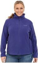 Columbia Plus Size Fast TrekTM II Full Zip Fleece Jacket