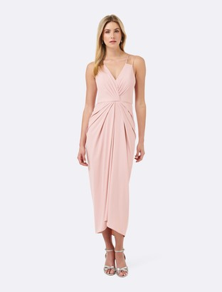 Forever New Odille Soft Maxi - Lotus Pink - 10