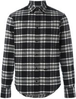 DSQUARED2 cropped outside flannel shirt