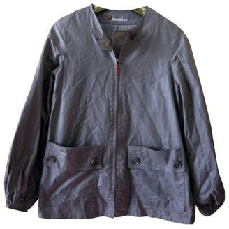 Sessun Grey Cotton Jackets