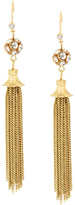 Piper Strand Sin Siesta Gold Tassel Earrings