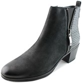 Gerry Weber Casey 01 Women Round Toe Leather Black Ankle Boot.