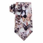 Asstd National Brand American Traditions Cat Camo Tie