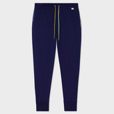 Paul Smith Men's Navy Jersey Cotton Lounge Pants