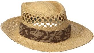 San Diego Hat Company San Diego Hat Co. Men's Raffia Gambler Hat with Stretch Fit Sweat Band