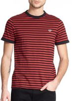 Fred Perry Slub Stripe Ringer Tee