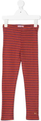 Bobo Choses Striped Cotton Leggings