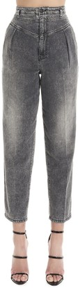 Pinko High Rise Cropped Jeans