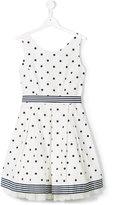 Lapin House - polka dot dress - kids - Cotton/Polyamide/Tactel - 14 yrs