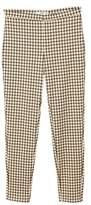 MANGO Check pattern leggings