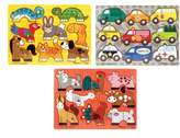 Melissa & Doug Toddler Mix 'N' Match Puzzles