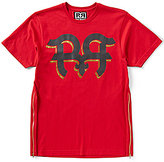 "Rock Revival Jumped Out Double ""R"" Foiled Short-Sleeve Crew Neck Graphic Tee"