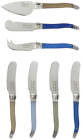 French Home Laguiole Cheese Knife and Spreader Set (7 PC)